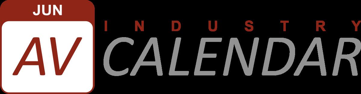 AV Industry Calendar